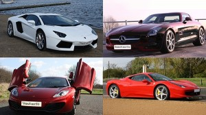 You could drive a new super car every week thanks to VeryFirstTo.com