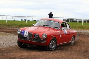 80 classic cars line up for this years Rally of Tests