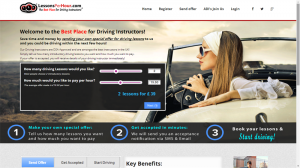 Learners set your own price for driving lessons