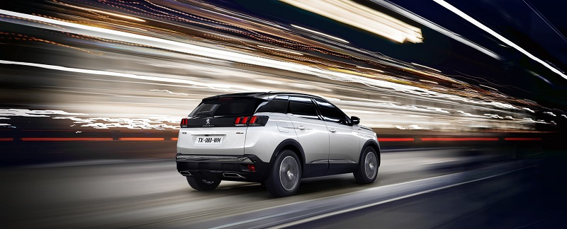 The new Peugeot 3008 SUV GT Line